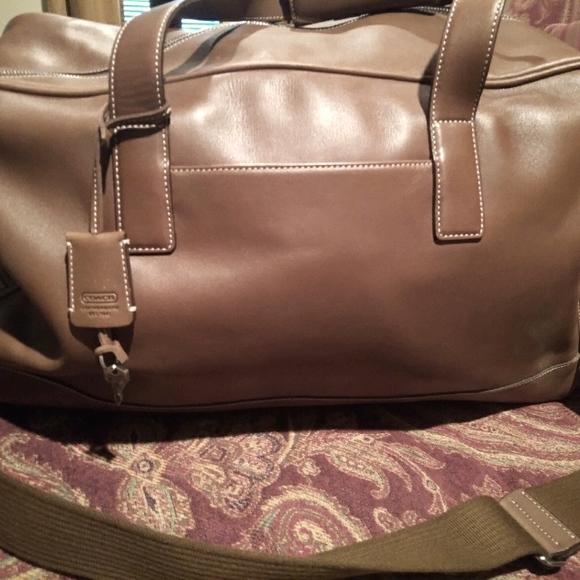 Coach weekend bag.  Used once.